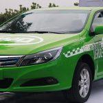 Se pone en servicio el primer taxi 100% eléctrico en Medellín