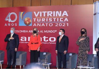 Con la 40 Vitrina Turística de ANATO 2021, la industria de los viajes empieza su reactivación